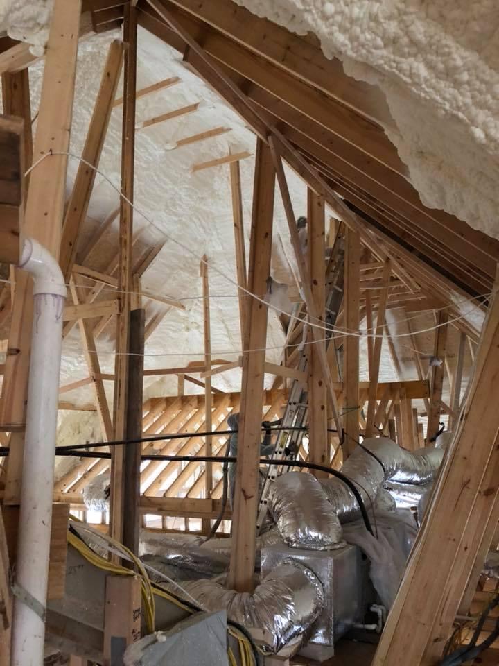 Spray Foam Attic Insulation Dallas