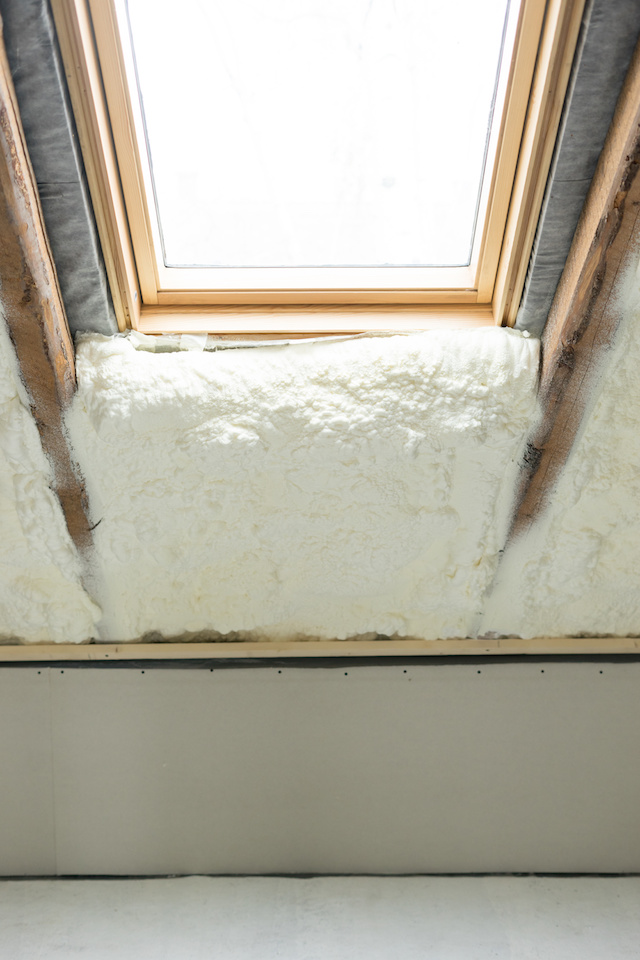 Closed-cell Spray Foam Insulation Dallas
