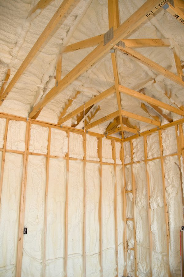 New Construction Spray Foam Insulation Dallas Texas