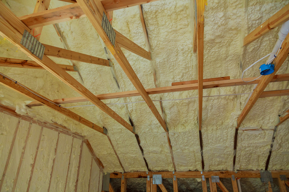 Spray Foam Attic Insulation Dallas