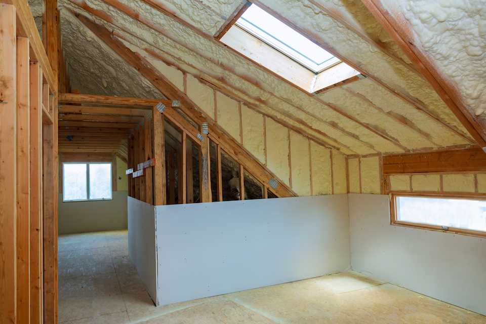 Spray Foam Attic Insulation Dallas 2