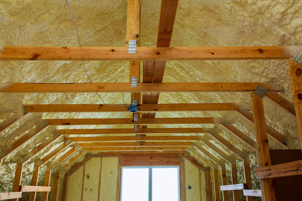 Spray Foam Attic Insulation Dallas TX 3
