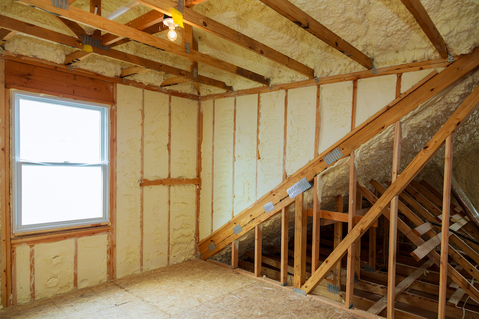 Spray Foam Attic Insulation Dallas 5