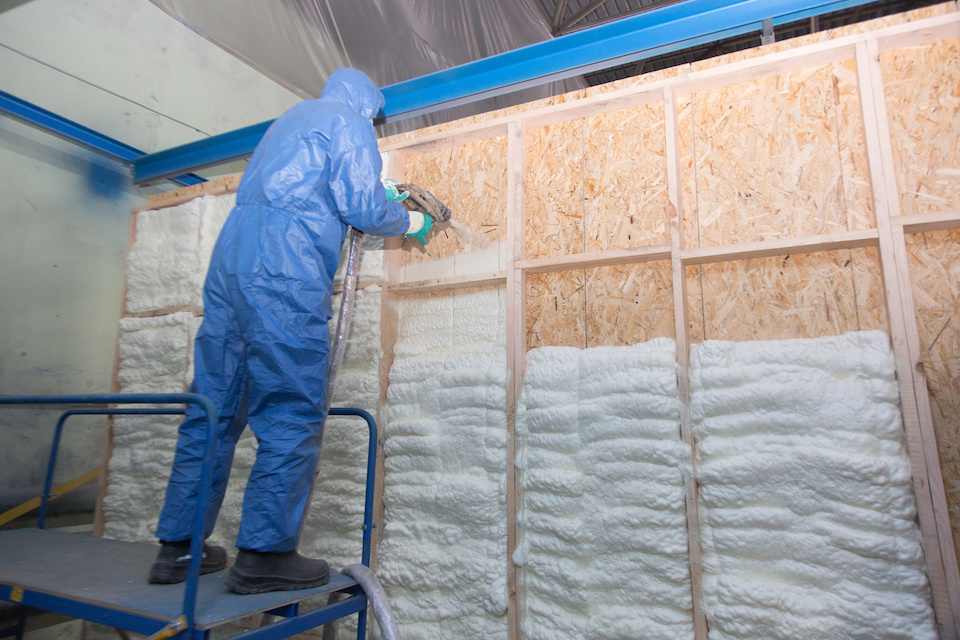 Commercial Spray Foam Insulation Installation Dallas TX