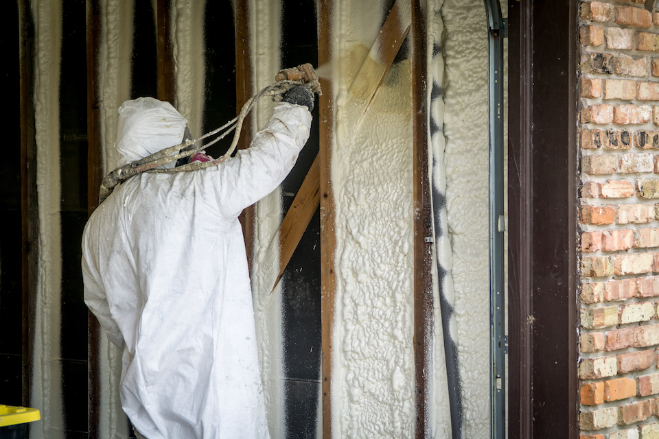 Residential Spray Foam Insulation Installation Dallas TX