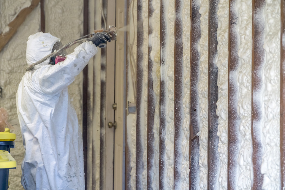 Residential Spray Foam Insulation Installation Dallas
