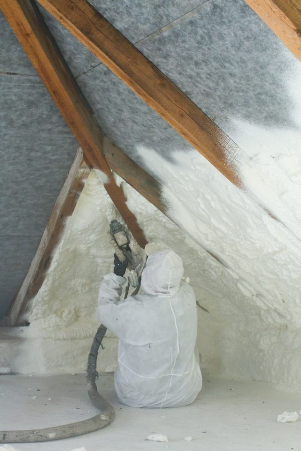 Spray Foam Insulation Installation Dallas 07