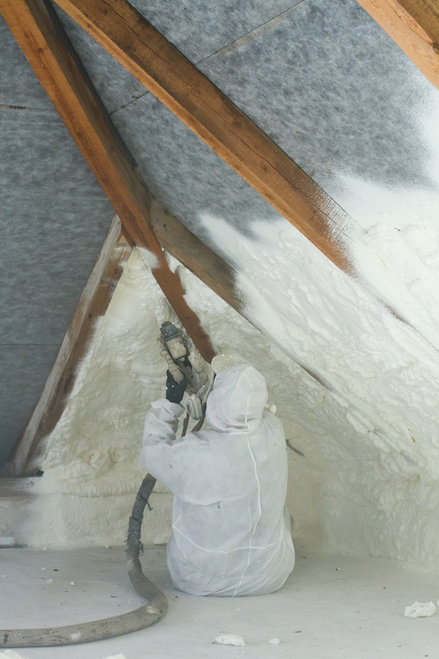 Spray Foam Insulation Installation Dallas 07